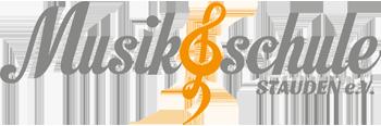 Musikschule Stauden e.V. Logo